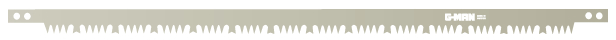 "G-Man 21"" Bow Saw Blade"
