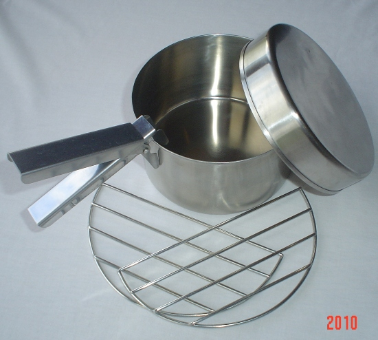 Small Cook Set (Stainless Steel) for Trekker Model