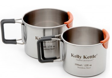 Kelly Kettle - Stainless Steel Mug Set