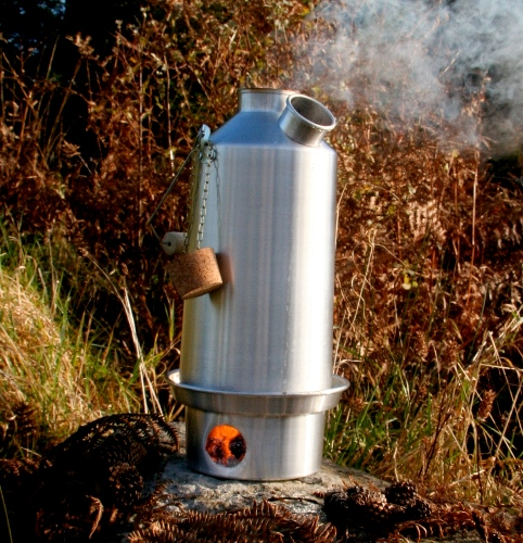 Kelly Kettle Large 'Base Camp' - Stainless Steel (1.5 ltr)