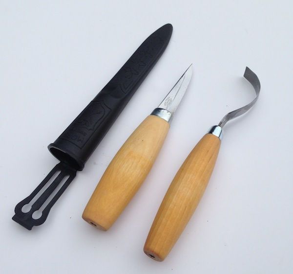 New Mora Spoon Carving Kit - RIGHT handed