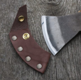Robin Wood Carving Axe Sheath - Click Image to Close